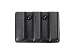 SAFARILAND 775 SLIMLINE OPEN TOP TRIPLE MAGAZINE POUCH, STX FINISH