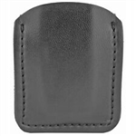 SAFARILAND MODEL 81 OPEN TOP MAGAZINE POUCH, PLAIN LEATHER