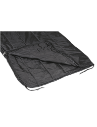 5ive Star Gear Woobie3-In-One Blanket, Black