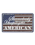 MORALE PATCH, UNAPOLOGETIC AMERICAN