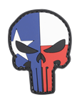 MORALE PATCH, LONE STAR PUNISHER