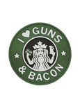 MORALE PATCH, GUNS AND BACON