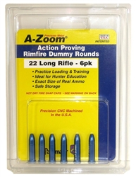 A-ZOOM SNAP-CAPS, 22 LONG RIFLE (6 PACK)