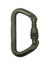 5ive Star Gear Omega Pacific 7000 Series Locking Tactical D Carabiner, Foliage