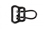 "BLUE FORCE GEAR UNIVERSAL WIRE LOOP, ULOOP VERSION 1, 1.25"", BLACK"