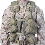 BLACKHAWK ENHANCED SOLDIER LOAD BEARING VEST, COYOTE TAN
