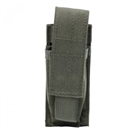 BLACKHAWK STRIKE Single Pistol Mag Pouch, RANGER GREEN, MOLLE