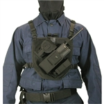 Blackhawk Patrol Radio Chest Harness, Black