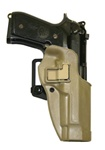 BLACKHAWK® CQC™ SERPA® COYOTE TAN HOLSTER FOR BERETTA 92/96 (RIGHT-HANDED)