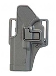 BLACKHAWK® CQC™ SERPA® MATTE BLACK HOLSTER FOR H&K USP FULL-SIZE (LEFT-HANDED)