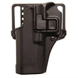 BLACKHAWK® CQC™ SERPA® MATTE BLACK HOLSTER FOR CZ 75/ 75B/ 75 SP-01 Shadow/ 85B (LEFT-HANDED)