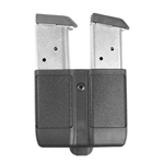 BLACKHAWK DOUBLE STACK DOUBLE MAG POUCH, BLACK