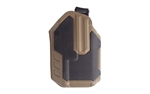 BLACKHAWK Omnivore SureFire X300/X300U-A Light Bearing Multifit Holster, Right Hand, Coyote