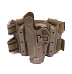 Blackhawk Serpa Level 2 Tactical Holster, Glock / S&W, Coyote Tan, Left Handed