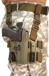 BLACKHAWK LEVEL 2 TACTICAL SERPA HOLSTER, SIG 220/225/226/228/229, RIGHT-HANDED, OD GREEN