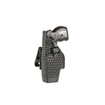 BLACKHAWK TASER X26 HOLSTER, LEFT HANDED, BLACK, BASKET WEAVE
