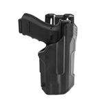 BLACKHAWK T SERIES LB L2, GLOCK 17/19/22/23/31/32/45/47 W/ TLR 7/8, LEVEL 2, RIGHT HANDED