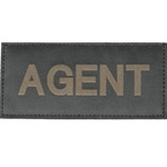 AGENT PATCH (OD GREEN ON BLACK)