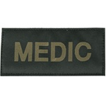 MEDIC PATCH (OD GREEN ON BLACK)