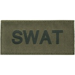 SWAT PATCH (BLACK ON OD GREEN)