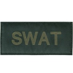 SWAT PATCH (OD GREEN ON BLACK)
