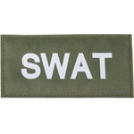 SWAT PATCH (WHITE ON OD GREEN)