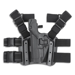 Blackhawk Serpa Level 2 Tactical Holster, Caracal, Black, Left Handed