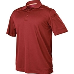 BLACKHAWK MEN'S-LARGE-RED-RANGE-POLO