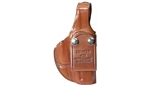 BIANCHI MODEL 3S LEATHER IWB HOLSTER, GLOCK 19/23. RIGHT HANDED