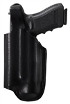BIANCH MODEL 90 VISION HOLSTER FOR GLOCK 17/22 with M3/M6/TLR-1/TLR-2/X200/X300, BLACK, LEFT-HANDED