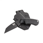 BENCHMADE MODEL 125 AZERIA, BLACK BLADE