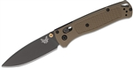 BENCHMADE MODEL 535 BUGOUT, GREY, PLAIN EDGE
