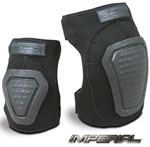 DAMASCUS IMPERIAL NEOPRENE ELBOW PADS, BLACK