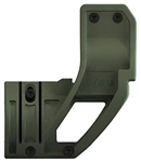 ELZETTA ZFH1500 AR FLASHLIGHT MOUNT, OD GREEN (STANDARD)