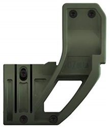 ELZETTA ZFH1500 AR FLASHLIGHT MOUNT, OD GREEN (THUMBSCREW)