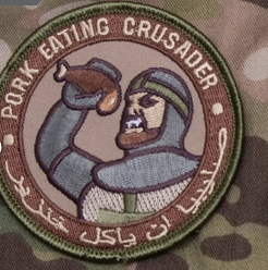 MSM PORK EATING CRUSADER PATCH, ARID
