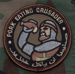 MSM PORK EATING CRUSADER PATCH, FOREST