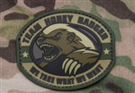 MSM HONEY BADGER PATCH, MULTICAM