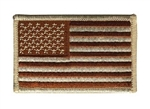 AMERICAN FLAG PATCH, DESERT, FORWARD