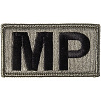 ACU MILITARY POLICE PATCH (EMBROIDERED)