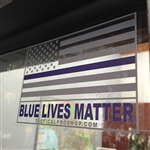 BLUE LIVES MATTER, Tactical Pro Shop Custom Sticker (Pack of 10)