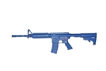 "BLUEGUN COLT M4 FLAT TOP W/FORWARD RAIL 14"" BARREL, OPEN STOCK TRAINING REPLICA"
