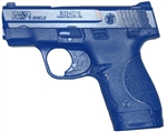 BLUEGUN S&W M&P SHIELD TRAINING REPLICA, With EXTENDED MAGAZINE