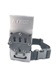 G-CODE RTI OPTIMAL DROP PLATFORM W/ THIGH STRAP, 2IN BELT, GRAY