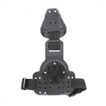 G-CODE REAC DROP LEG RTI / TACTICAL KYDEX DROP LEG PANEL W/ SINGLE LEG STRAP, BLACK