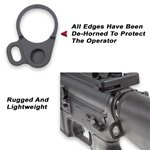 GG&G AR LOOPED SLING ATTACHMENT, FOR FIXED STOCKS