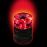 Glo-Toob Flash-Cap w/Magnetic Base - RED