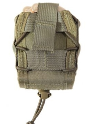 HSGI BELT MOUNTED HANDCUFF TACO, OD GREEN