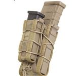 HSGI BELT MOUNTED DOUBLE DECKER TACO, MULTICAM