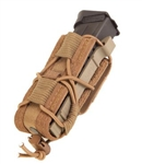 HSGI BELT MOUNTED PISTOL TACO, COYOTE BROWN